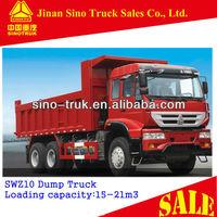 China 6X4 Strengthen type Dump Trucks