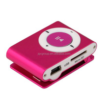 [JQX] waterproof free music download clip mp3 music player