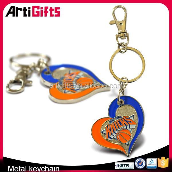 2015 3D deisgn make your own logo metal key chain