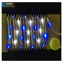 Best Price Button Battery Operated LED PVC Wire String Light
