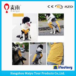 2015 fashion waterproof windbreaker rain suit for pet