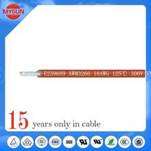 cable eléctrico para el cableado