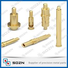 Brass hardware plug hollow copper pin
