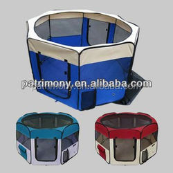 X70262 Oxford Fabric Outdoor Pet /Dog Playpens With 8 Panels Wholesale