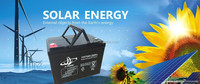 China factory 12V75AH VRLA Battery/Deep Cycle Design with Gel for Power Tools/Vacuum Cleaners/Solar Systems