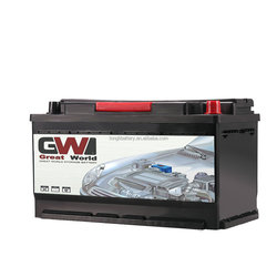 Best selling rechargeable high quality MF car battery,12V N100 100AH auto lead acid battery