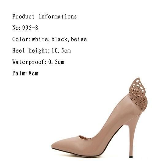 Туфли на высоком каблуке 995/8 995-8