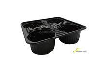 Plastic cup holder - 4 cups