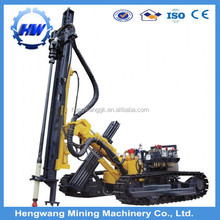 Electric dth crawler borehole hand drill machine price