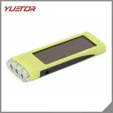 Hot selling Solar Power 3 LED Flashlight Torch survival Emergency flashlight LED