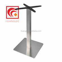 Cast iron tray, stainless steel hotel dining table, drawing stainless steel chassis, stainless steel square columns of tablefoot
