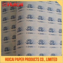 Specific customized printing recycled wrapping paper tissue