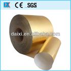 ouro offset manteiga de rolo de impressão da embalagem de alumínio folha de papel