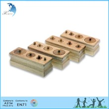 Christmas gift intelligent DIY wooden non-toxic montessori educational games child toy