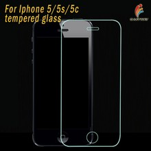 0.33mm 9H Hardness color tempered glass for apple iphone 5 5g 5s tempered glass screen protector