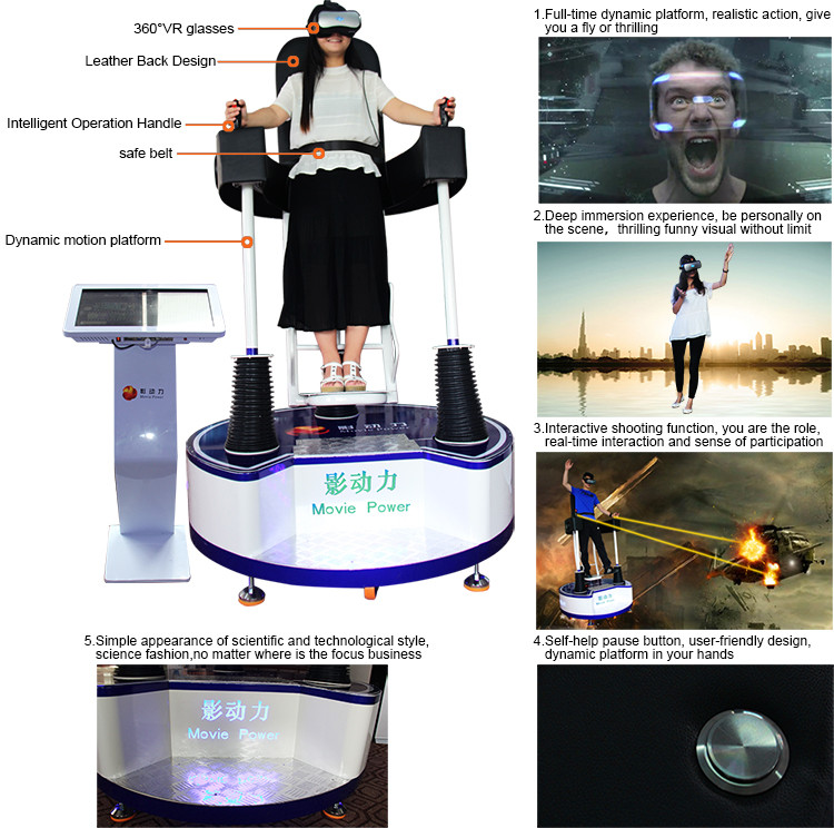 Hệ thống thực tế ảo 9DVR, phòng phim 9D VR với công nghệ tiên tiến nhất giá rẻ
