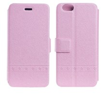 Wholesale cell phone cover leather mobile phone case for gilrs