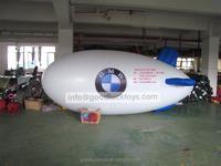 custom made inflatable pvc airship/r/c pvc blimp/zeppelin /inflatable blimp for sale