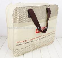 Color personalizado impreso pvc y no tejido funda de colchón bolsa con cremallera venta al por mayor