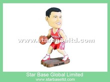 High quality custom NBA player bobblehead