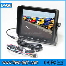 8 Inches Tft Lcd Color Monitors with 4 pin connector