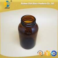 amber glass tablet pharmaceutical Bottle 500ml