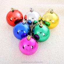 Good quality Chrismas plastic ball,best inside painting Christmas ball/christmas decorations