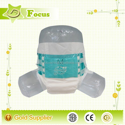 PE Breathable Adult Diaper Factory/ Disposable Cheap Adult Diaper for Elderly, Senior Adult Diaper for the Old Men