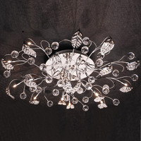 russia style art deco ceiling light fixture