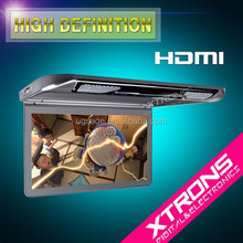 "13.3"" 1080P Video HD Digital TFT Monitor Wide Screen Ultra-thin Car Roof Player with HDMI Port"