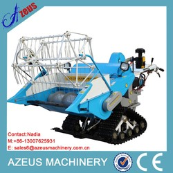 Walking Type Full-feeding mini rice paddy cutting machine
