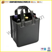 2014 Popular Design PU Leather Wine Bag Holder Wine Bottle Holder