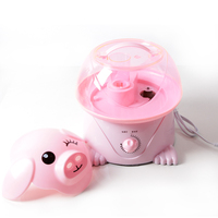 New 2014 Pink Pig Air Humidifier Cute Green Frog Ultrasonic Aroma Diffuser Free Shipping MR0089