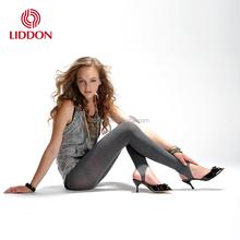 Fashion gray thin spandex teen girls in tight girl baby brand name fitness leggings