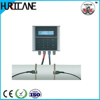 PVC pipe clamp-on ultrasonic water flow meter