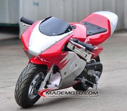 2015 Hot Sale 50CC Gas Powered Super Pocket Bike for sale cheap (PB4703)