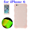 Wholesale China Luminous Silicone case cover for iPhone 6