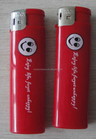 Europe Standard piezo printed lighter-ISO9994 red lighter