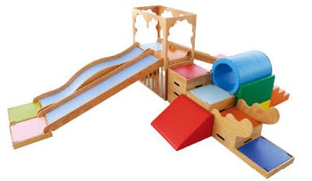 1-9 Aged Kids Indoor Playsets/wooden Indoor Kids Playground/indoor ...