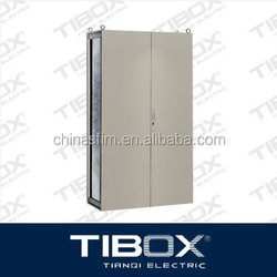 TIBOX CE ROSH UL IP55 approved double door floor stand cabinets with locks