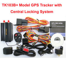 TK103+ Vehicle GPS Tracker Support Dual SIM Card, Support Dual Fuel Sensor Monitoring