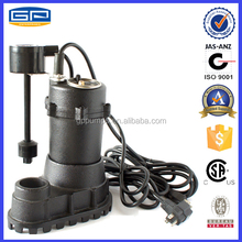 submersible water pump with CSA certification -sump pump