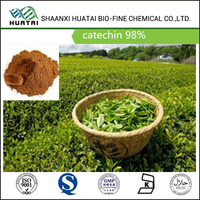 botanical extract anti-radiation green tea extract catechin 98% powder
