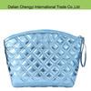 2015 hot sale Customized trendy women gorgeous chevron pu Smart Makeup Bag