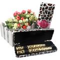 2013 nueva venta caliente! Magia del leopardo de pestañas rimel de la fibra del maquillaje Alargamiento sistema impermeable 2094