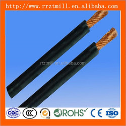 soft welding cable !! flexilbe rubber 4 0 welding cable