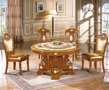 marble dining table set/marble top wood dining table