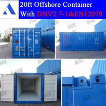 6m dry goods offshore container for sale from China