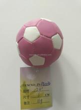 Pvc werbe-hacky sack/gefüllt jonglierball