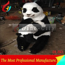silicone outdoor panda model for sale